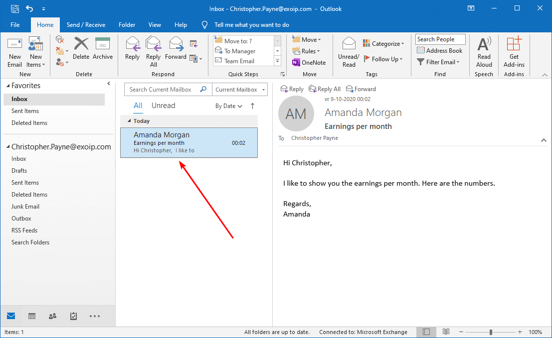 Search and delete email from Exchange user mailbox before