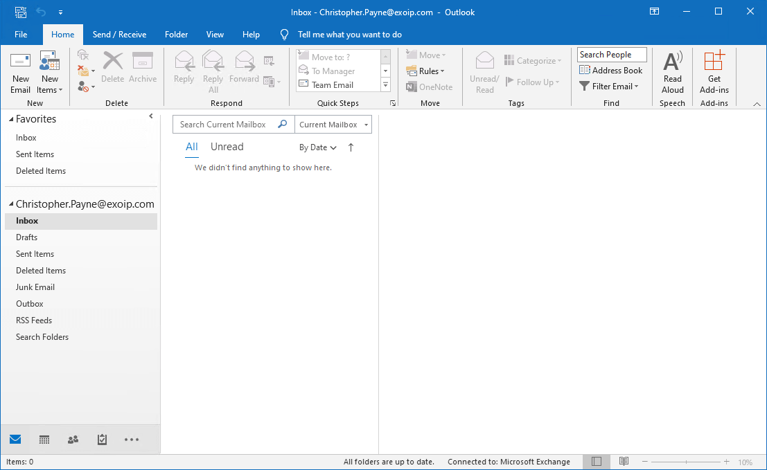 Search and delete messages from Exchange user mailboxes after