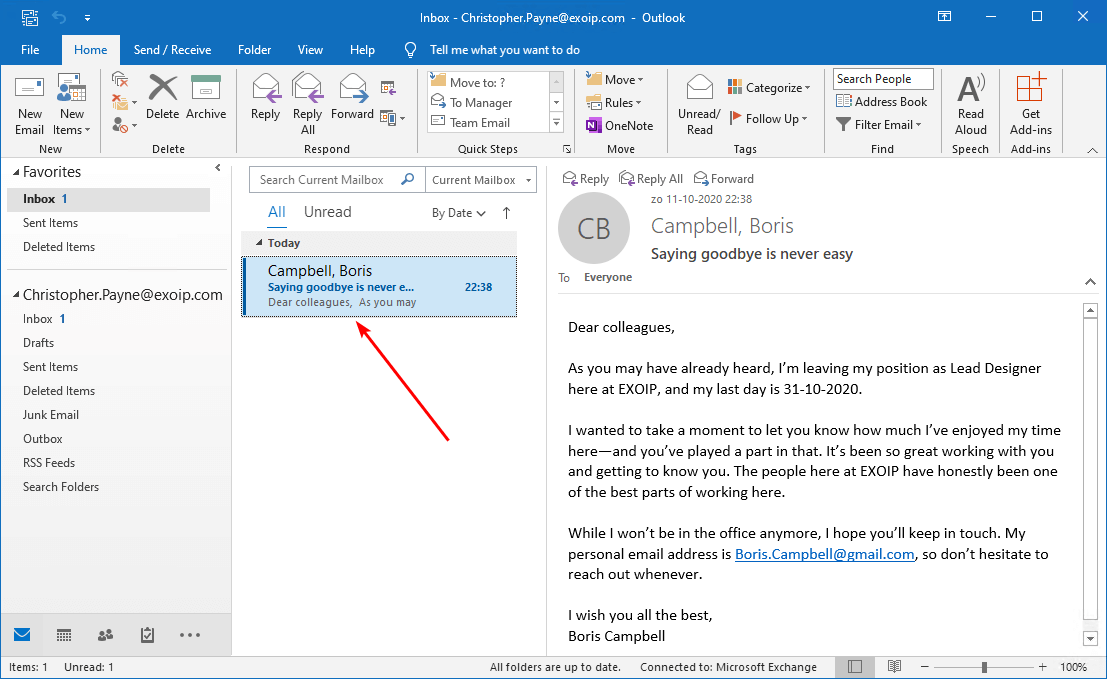 Search and delete messages from Exchange user mailboxes before