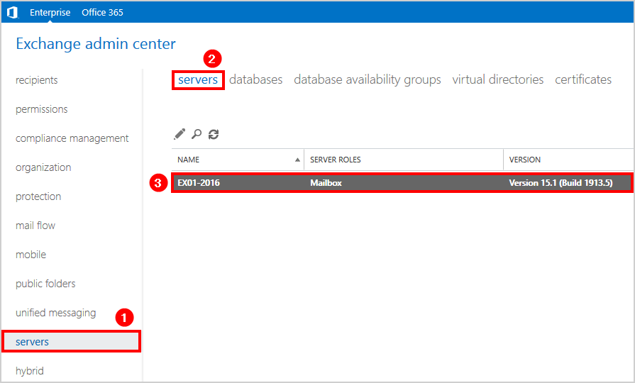 Find Exchange Server URLs with PowerShell server mailbox