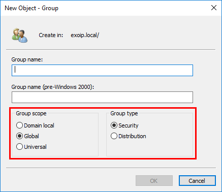 Convert Global to Universal Security Group with Powershell ADUC