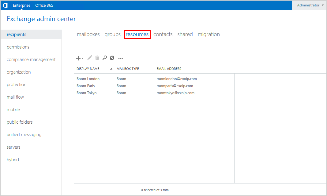 Export mailbox permissions to CSV file EAC resources