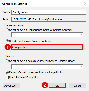Remove Exchange Server from Active Directory ADSI Edit configuration