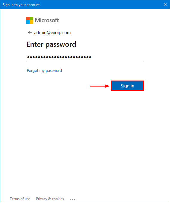Install Exchange Online PowerShell V2 sign in