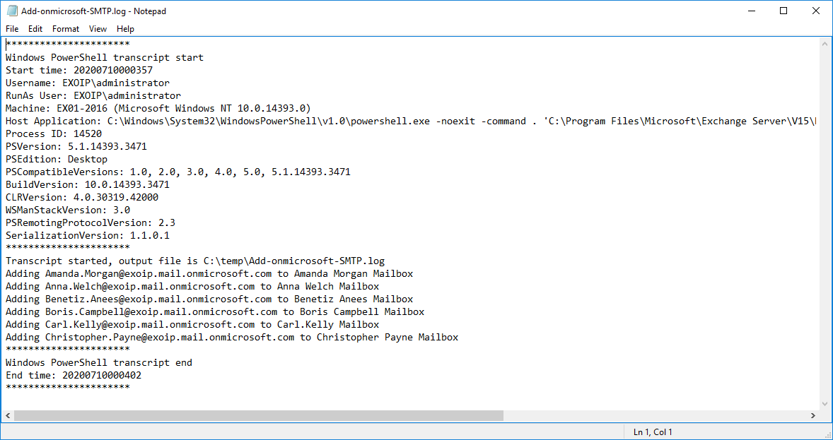 Target mailbox doesnt have an SMTP proxy matching log