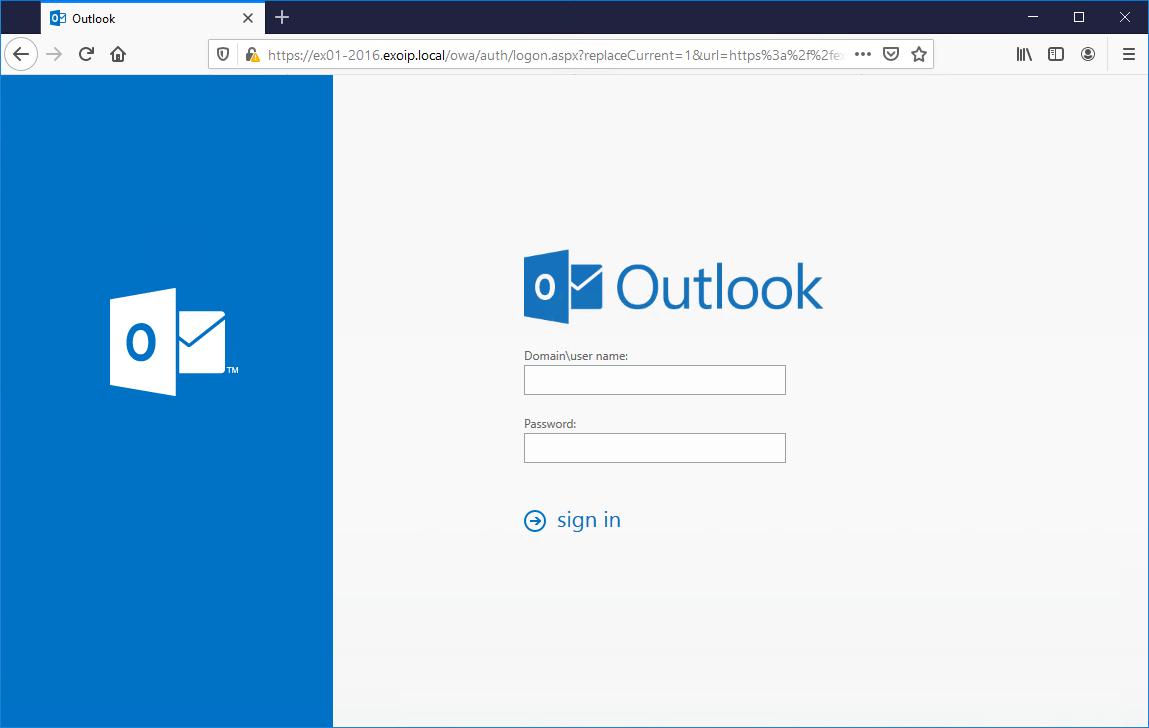 Unable to recreate exchange virtual directory login OWA