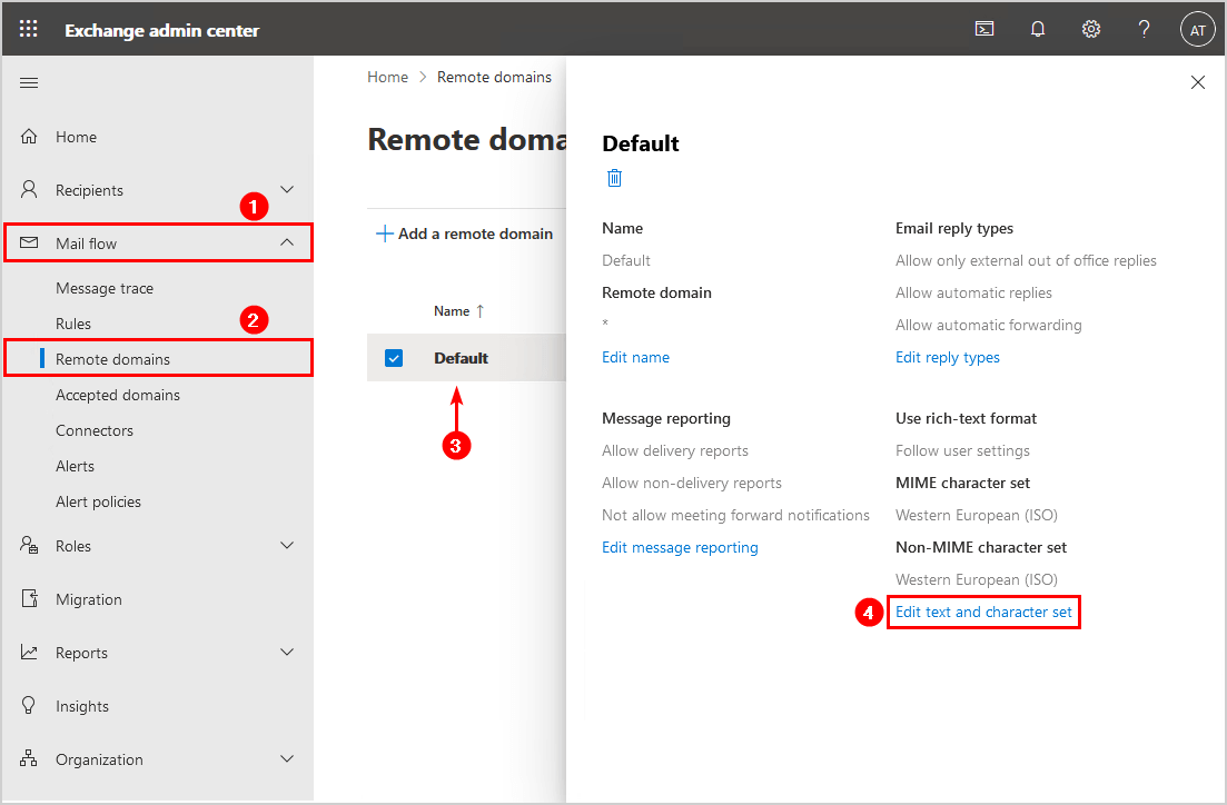 Fix winmail.dat attachment in Office 365 EAC