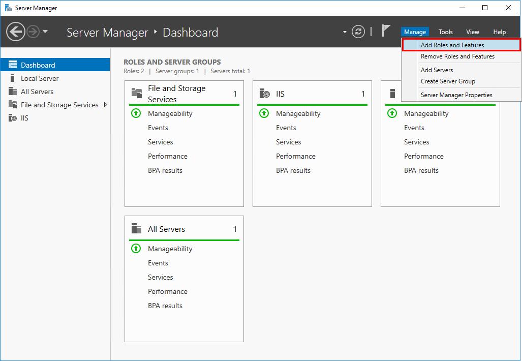 Install .NET Framework 3.5 on Windows Server - ALI TAJRAN
