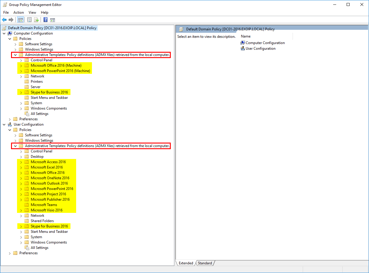 Install Administrative Template files for Microsoft Office 18