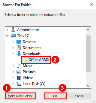 Install Administrative Template files for Microsoft Office 5