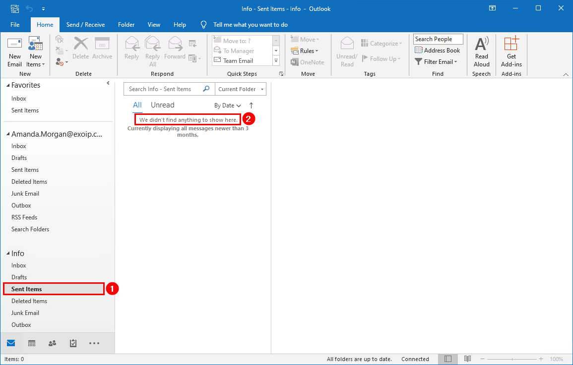 Save sent items in shared mailbox with PowerShell sent items shared mailbox before
