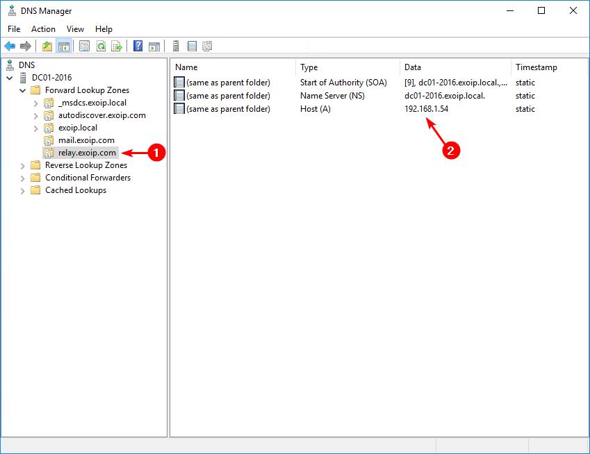 Test SMTP connection with telnet PowerShell script internal DNS A-record