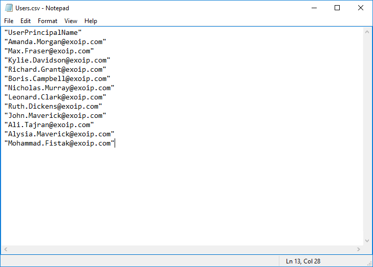 Remove users from group with PowerShell CSV file UPN quotation marks