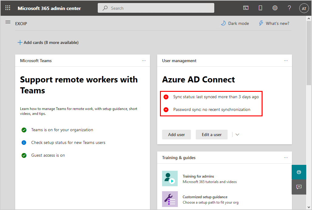 Conditional Access MFA breaks Azure AD Connect synchronization not syncing