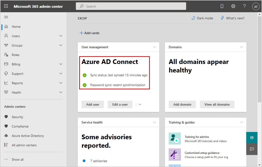 Move Azure AD Connect to new tenant 02