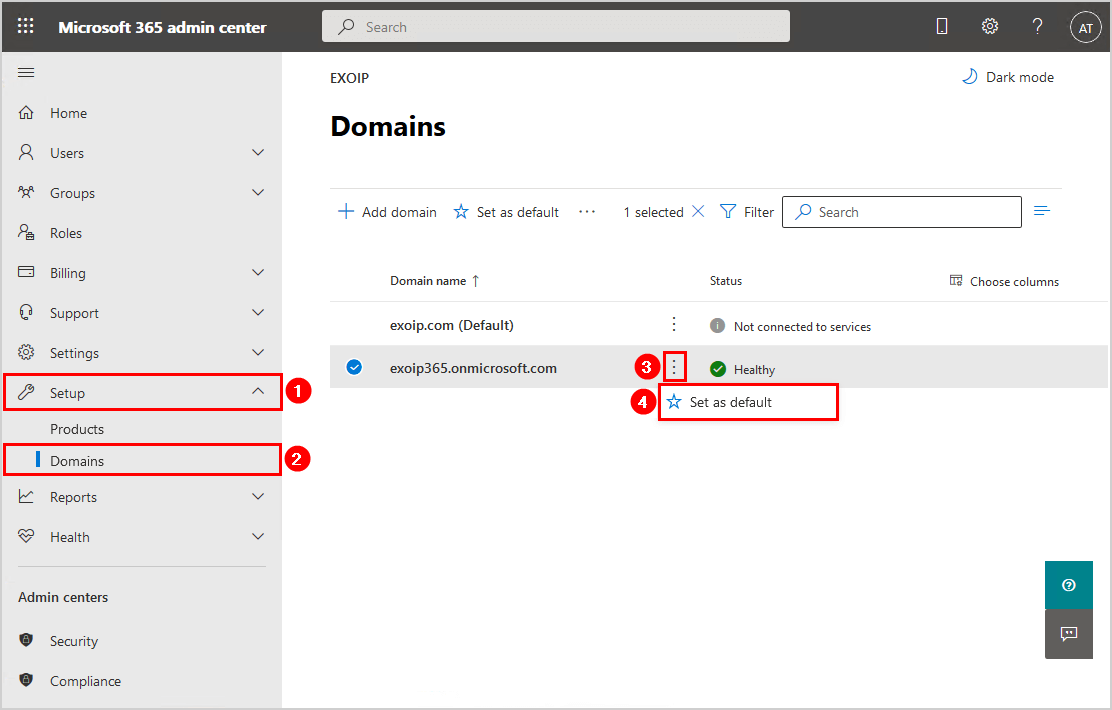 Move Azure AD Connect to new tenant 22