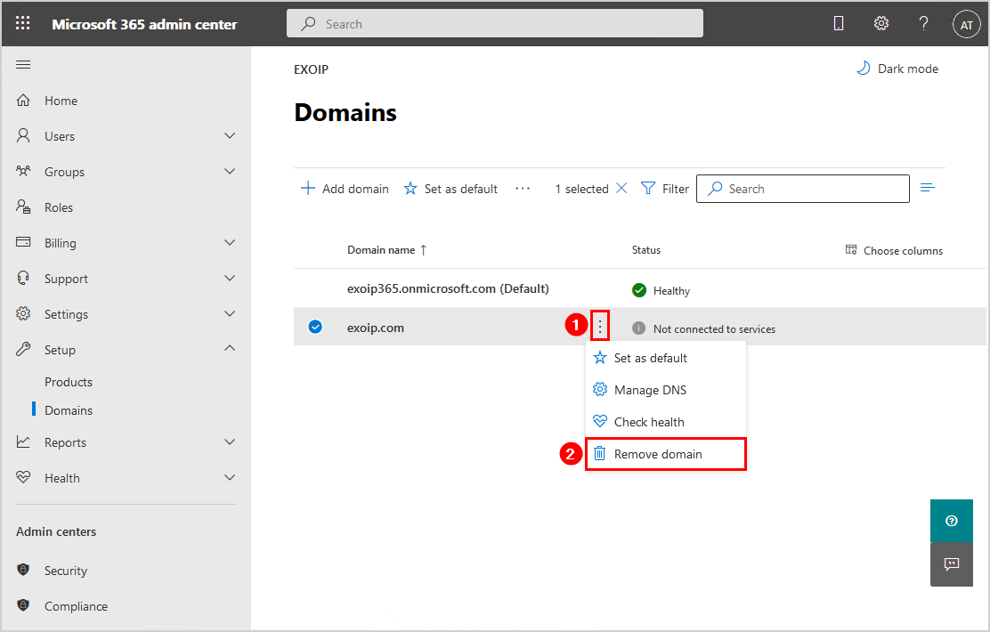Move Azure AD Connect to new tenant 23