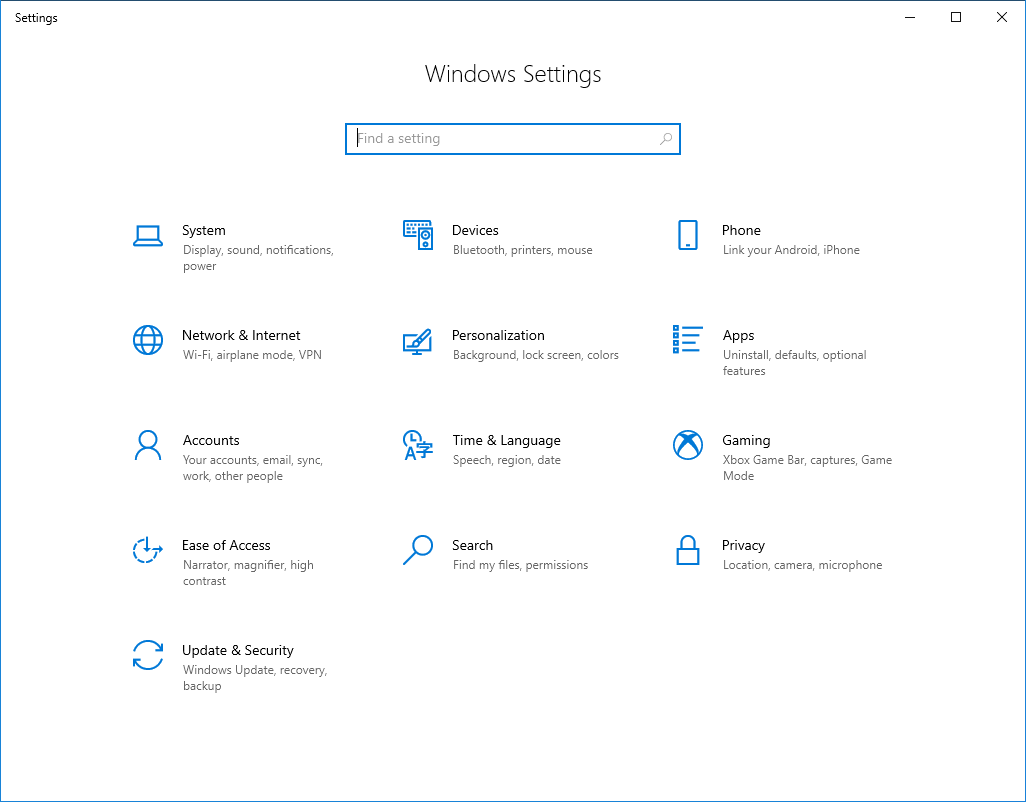 ms settings personalization background settings window working