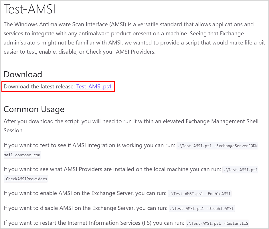 Download Test-AMSI.ps1 PowerShell script