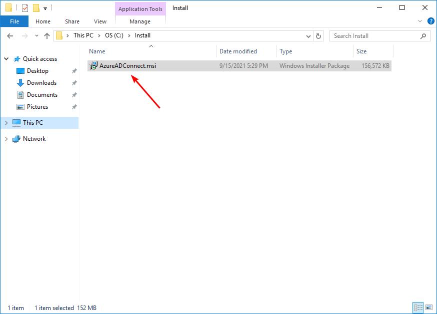 AzureADConnect.msi
