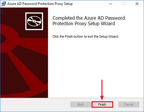Proxy setup complete